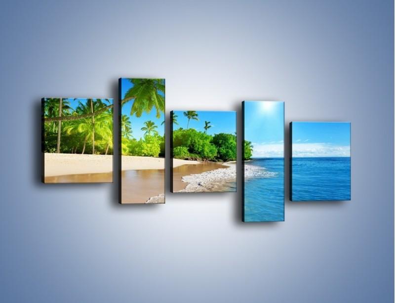Obraz na płótnie – Bajeczne wakacyjne wspomnienia – pięcioczęściowy KN1110AW7
