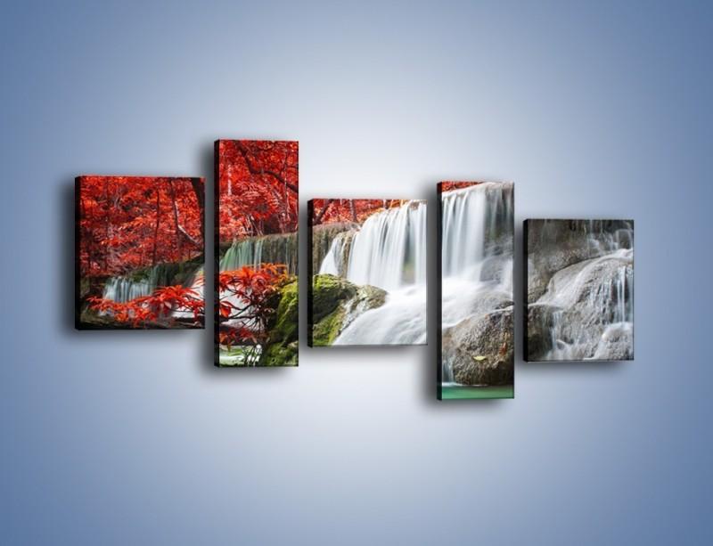 Obraz na płótnie – Zachwycić się naturą – pięcioczęściowy KN1250AW7
