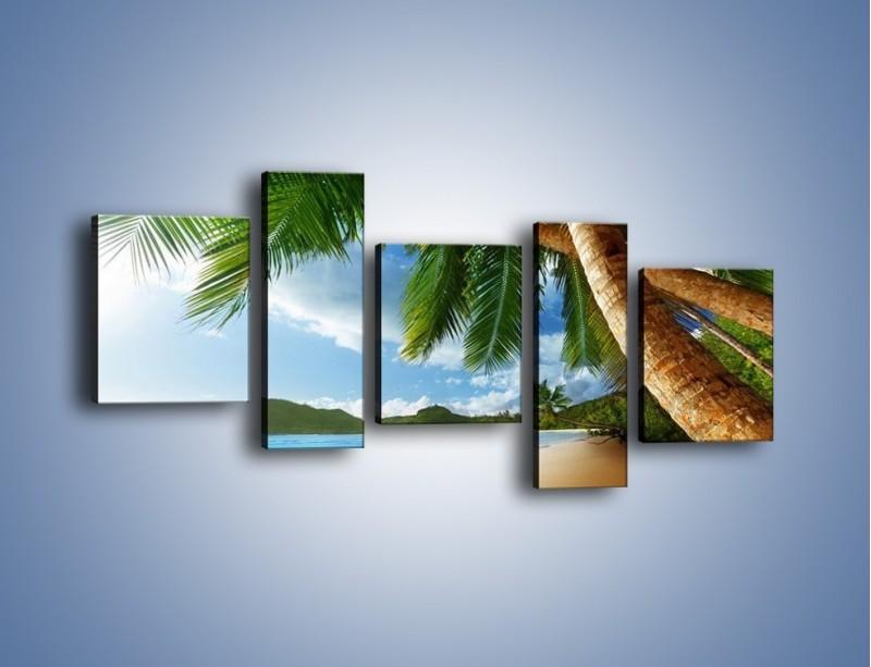Obraz na płótnie – Idealne miejsce na ziemi – pięcioczęściowy KN847W7