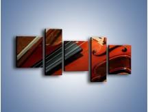 Obraz na płótnie – Instrument i muzyka poważna – pięcioczęściowy O025W7