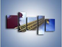 Obraz na płótnie – Gitara z bliska – pięcioczęściowy O088W7