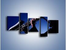 Obraz na płótnie – Koncert na saksofonie – pięcioczęściowy O110W7