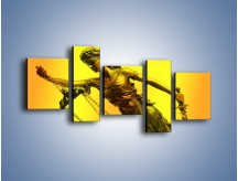 Obraz na płótnie – Figurka ważna w świecie prawa – pięcioczęściowy O164W7