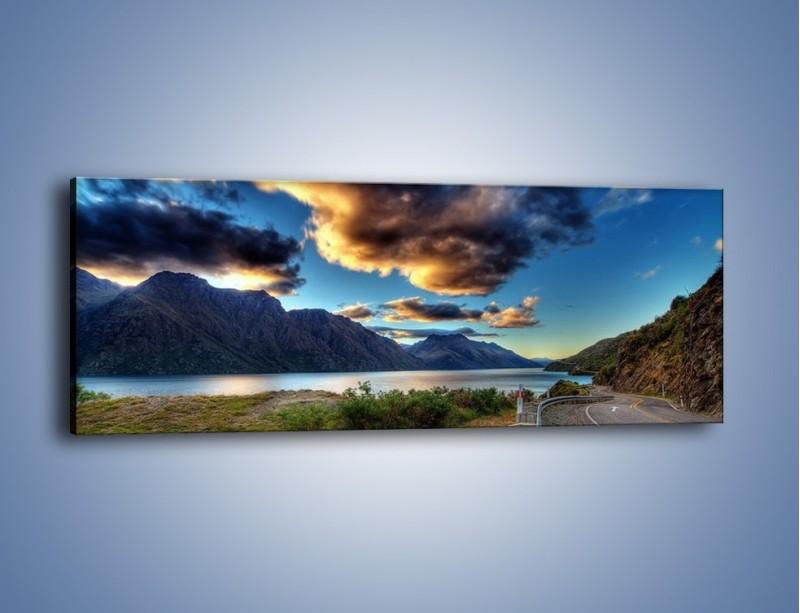 Obraz na płótnie – Droga w jedną stronę – jednoczęściowy panoramiczny KN752