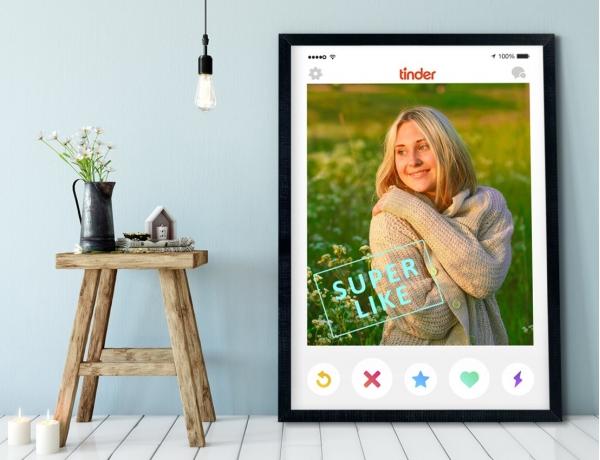 Plakat lub Obraz - Profil na Tinderze
