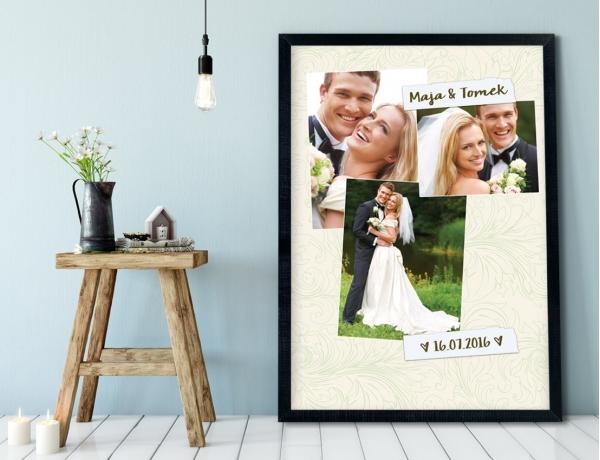 Plakat lub Obraz - Trzy Twoje zdjęcia