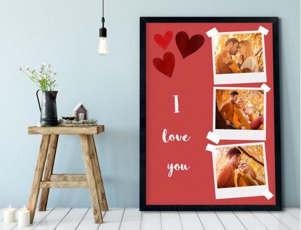 Plakat lub Obraz - Po prostu I Love You