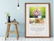 Plakat lub Obraz - Rocznica ślubu z cytatem Gaardera