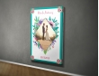 Plakat lub Obraz - Zdjęcie wśród kwiatów