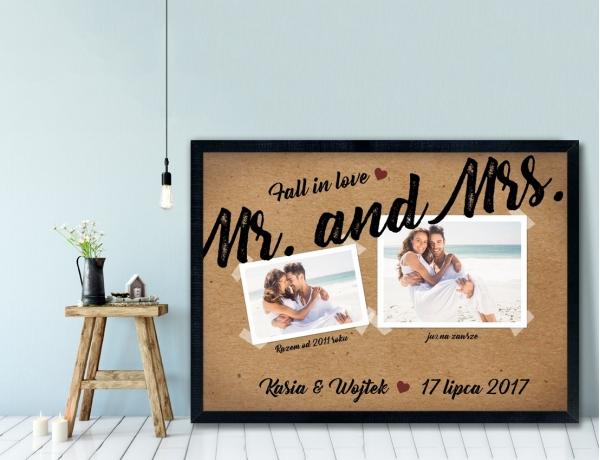 Plakat lub Obraz - Mr. and Mrs 1