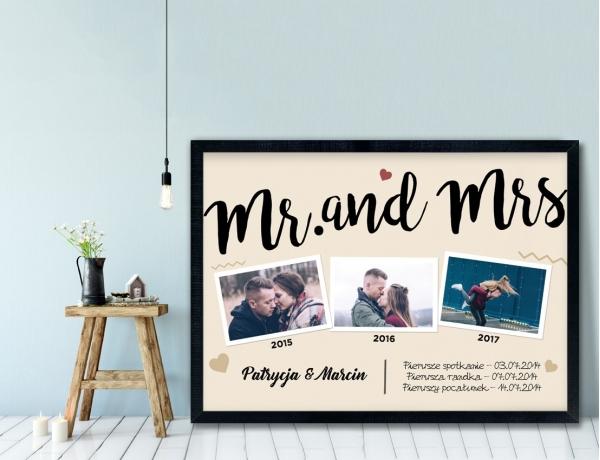 Plakat lub Obraz - Mr. and Mrs 3
