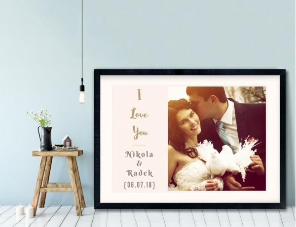 Plakat lub Obraz - Rocznica ślubu