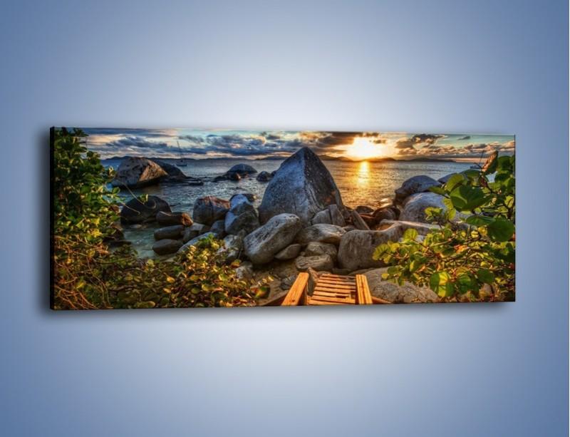 Obraz na płótnie – Droga bez wylotu – jednoczęściowy panoramiczny KN815