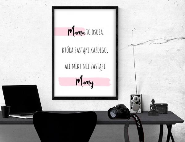 Plakat lub obraz - Mama zastąpi każdego