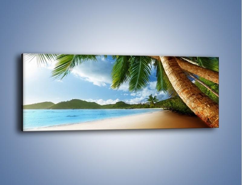 Obraz na płótnie – Idealne miejsce na ziemi – jednoczęściowy panoramiczny KN847