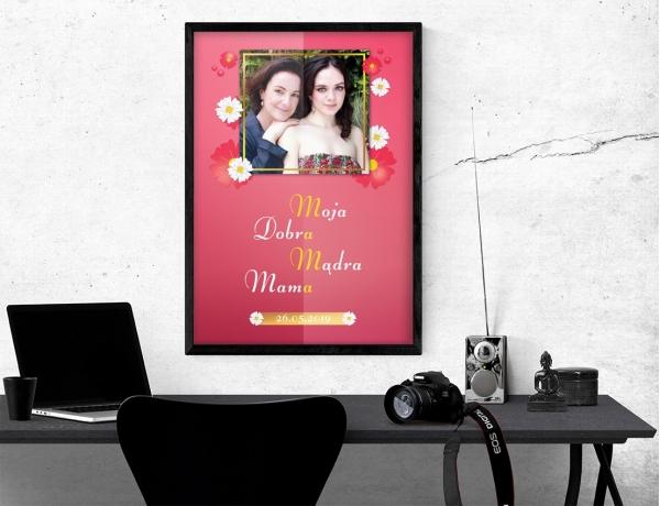 Plakat lub obraz - Dobra, mądra mama