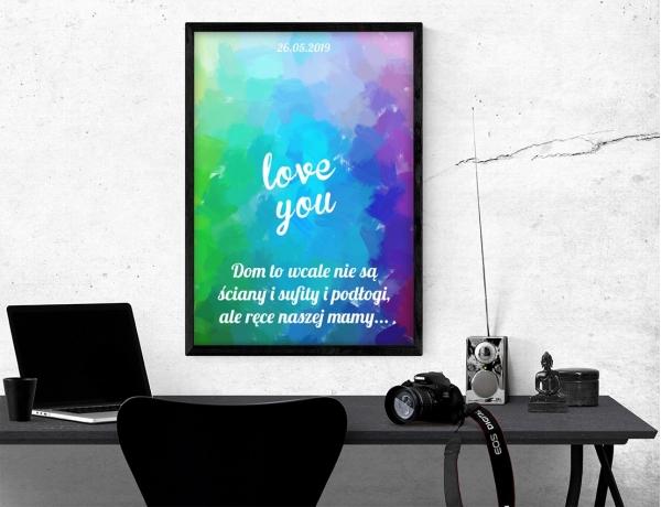 Plakat lub obraz - Love You