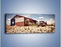 Obraz na płótnie – Autem przez texas – jednoczęściowy panoramiczny KN874