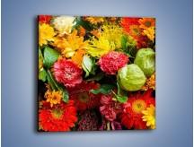 Obraz na płótnie – Bukiet pełen soczystych kolorów – jednoczęściowy kwadratowy K461
