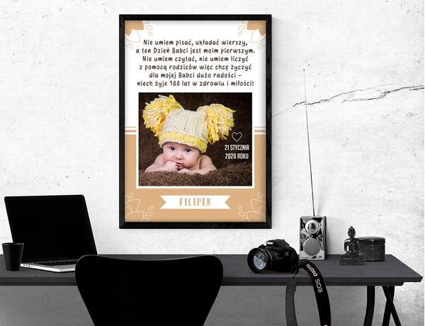 Plakat lub obraz - Dla Babci i Dziadka - Wzór 15