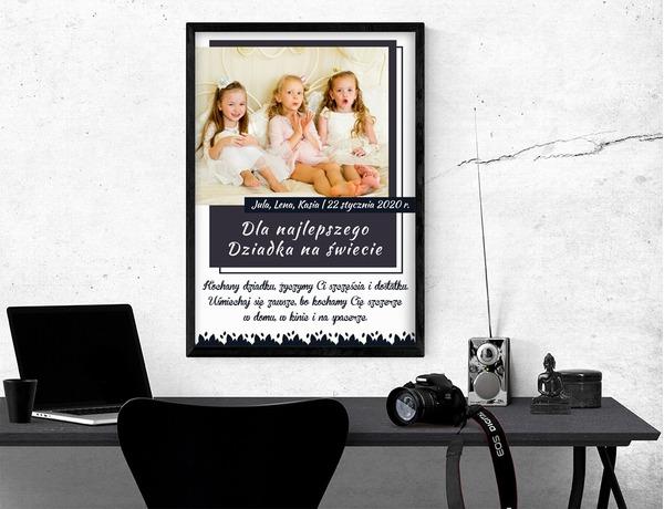 Plakat lub obraz - Dla Babci i Dziadka - Wzór 19