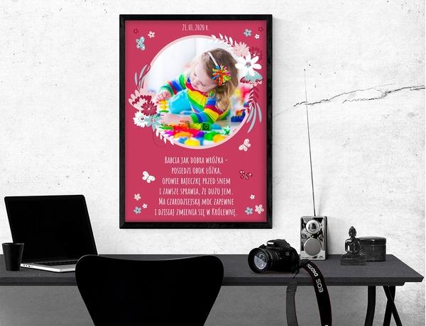 Plakat lub obraz - Dla Babci i Dziadka - Wzór 51