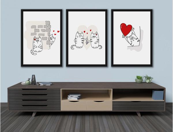 Miłość dwóch kotków