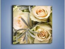 Obraz na płótnie – Bukiet z pasją – jednoczęściowy kwadratowy K502