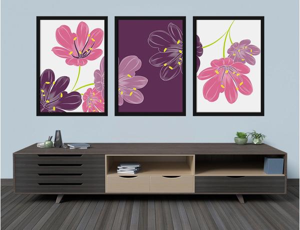 Lilie w trzech kolorach