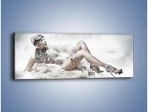 Obraz na płótnie – Biel i jego bogactwo – jednoczęściowy panoramiczny L100