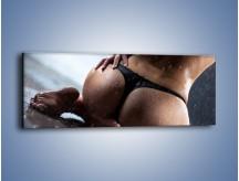 Obraz na płótnie – Ciało w deszczu – jednoczęściowy panoramiczny L231
