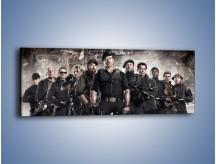 Obraz na płótnie – Armia silnych mężczyzn – jednoczęściowy panoramiczny L273
