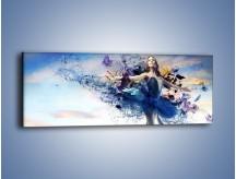 Obraz na płótnie – Balet w kobiecym wydaniu – jednoczęściowy panoramiczny L328