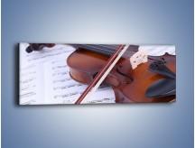 Obraz na płótnie – Melodia grana na skrzypcach – jednoczęściowy panoramiczny O003