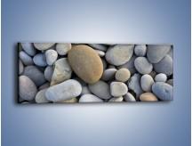Obraz na płótnie – Kamienie duże i małe – jednoczęściowy panoramiczny O006