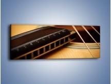 Obraz na płótnie – Instrumenty z drewna – jednoczęściowy panoramiczny O108