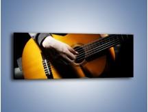 Obraz na płótnie – Chłopiec z gitarą – jednoczęściowy panoramiczny O109