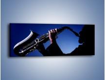 Obraz na płótnie – Koncert na saksofonie – jednoczęściowy panoramiczny O110