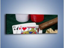 Obraz na płótnie – Męski świat hazardu – jednoczęściowy panoramiczny O121