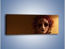 Obraz na płótnie – Maska ze znaczącymi szczegółami – jednoczęściowy panoramiczny O161