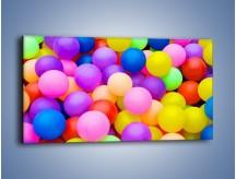Obraz na płótnie – Basen z kolorowymi piłeczkami – jednoczęściowy panoramiczny O208