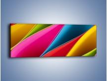 Obraz na płótnie – Idealna kolorowa kompozycja – jednoczęściowy panoramiczny O219