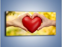 Obraz na płótnie – Miłość dwojga ludzi – jednoczęściowy panoramiczny O240