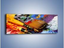 Obraz na płótnie – Kolory ze sobą zmieszane – jednoczęściowy panoramiczny O251