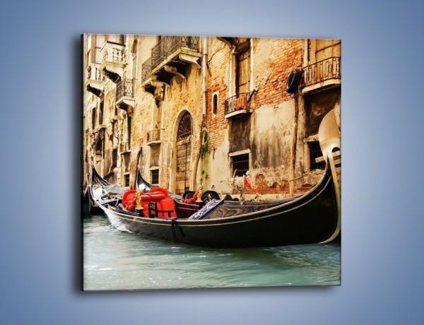 Obraz na płótnie – Wenecka gondola – jednoczęściowy kwadratowy AM286