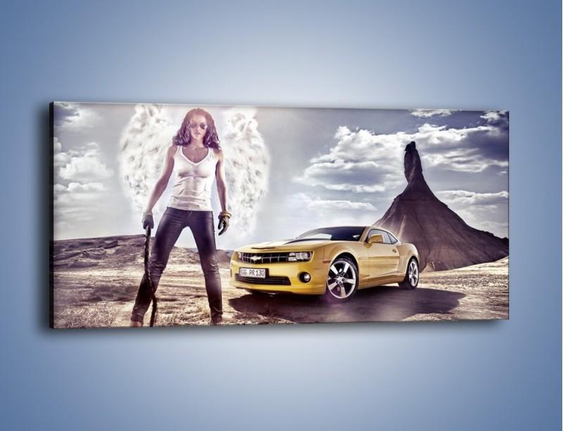 Obraz na płótnie – Chevrolet Camaro – jednoczęściowy panoramiczny TM079