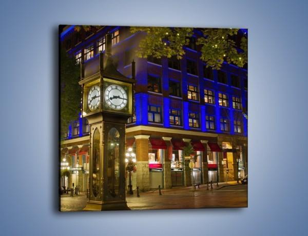 Obraz na płótnie – Zabytkowe Gastown w Kanadzie – jednoczęściowy kwadratowy AM297