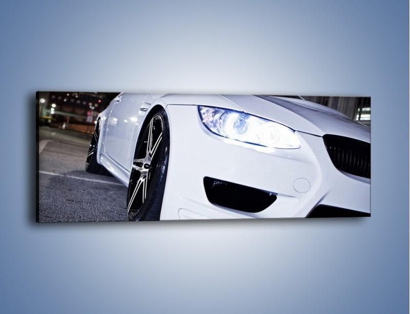 Obraz na płótnie – BMW E92 M3 Coupe – jednoczęściowy panoramiczny TM089