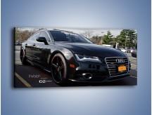 Obraz na płótnie – Audi A7 D2forged Wheels – jednoczęściowy panoramiczny TM099