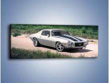 Obraz na płótnie – Chevrolet Camaro 1974 – jednoczęściowy panoramiczny TM105